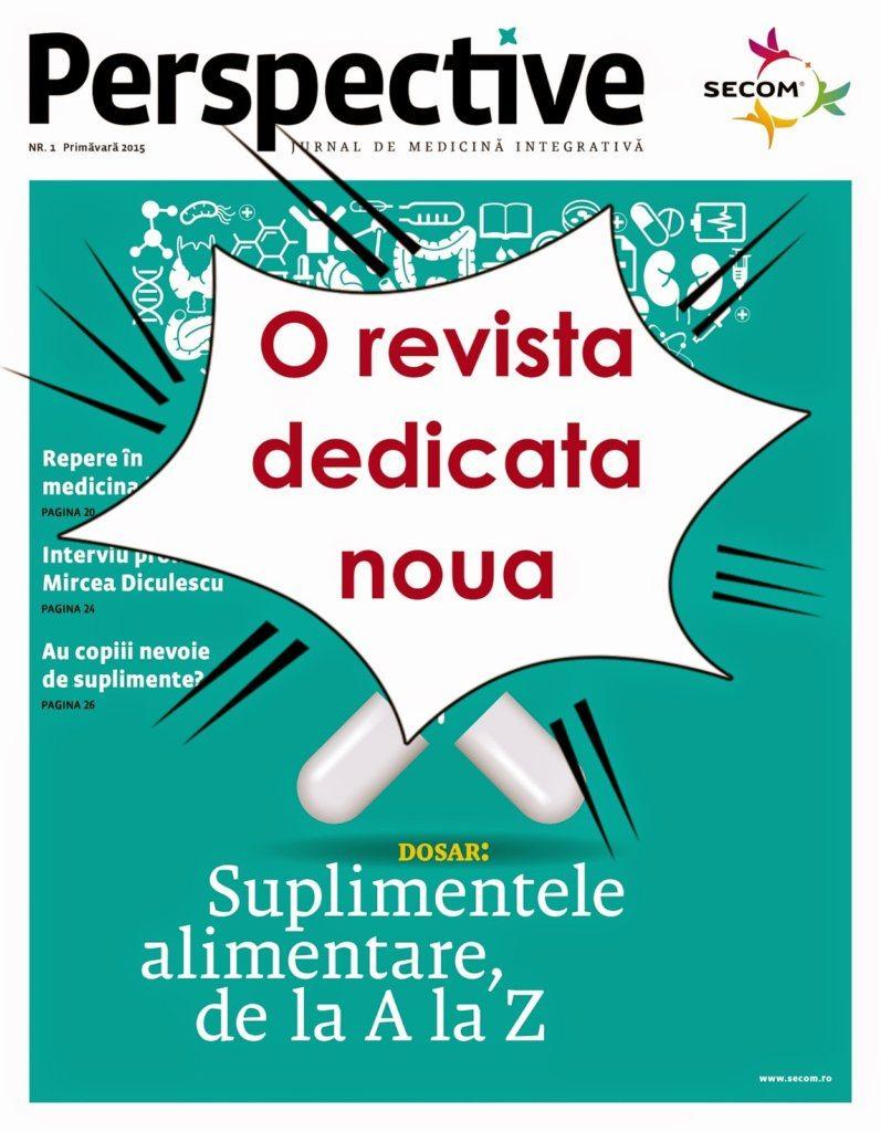 Perspective – o revistă dedicată nouă