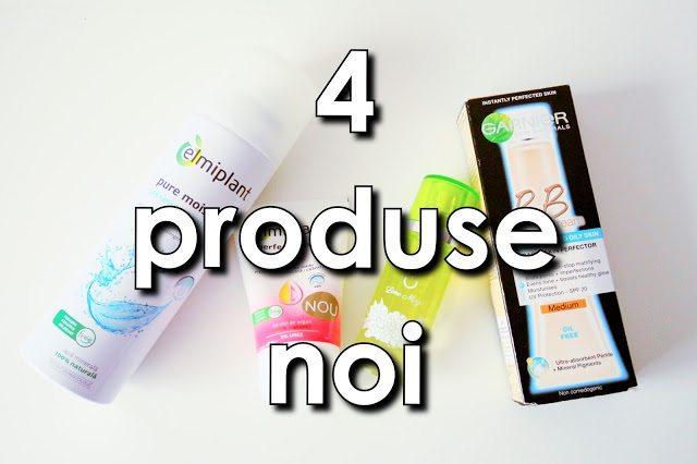 4 produse noi in rutina mea – video