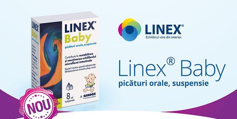 Lansare Linex Baby picături orale #farmacist101