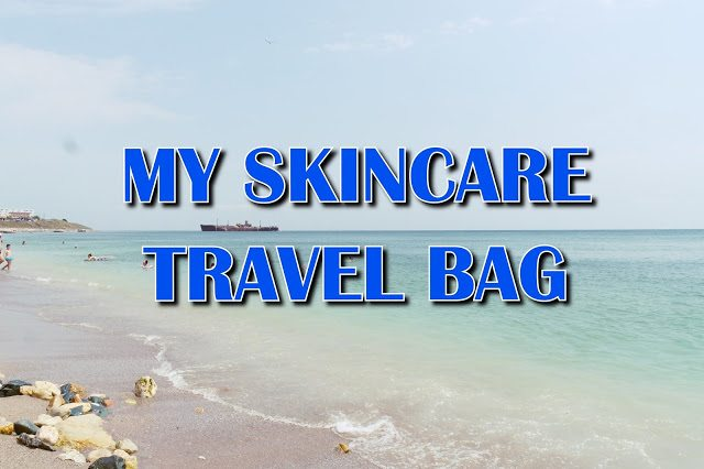 My skincare travel bag – video