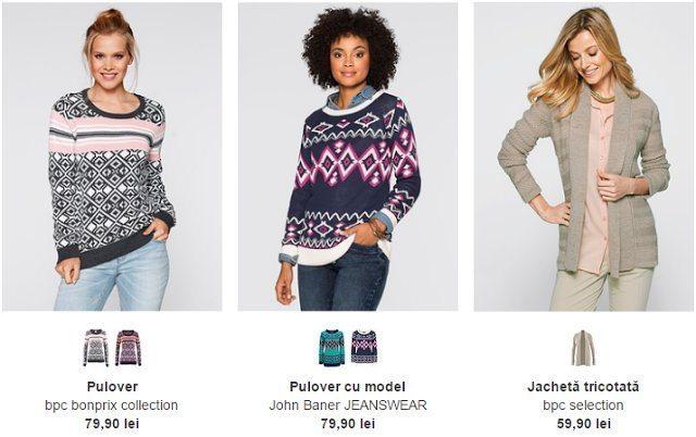 bluze tricotate de craciun
