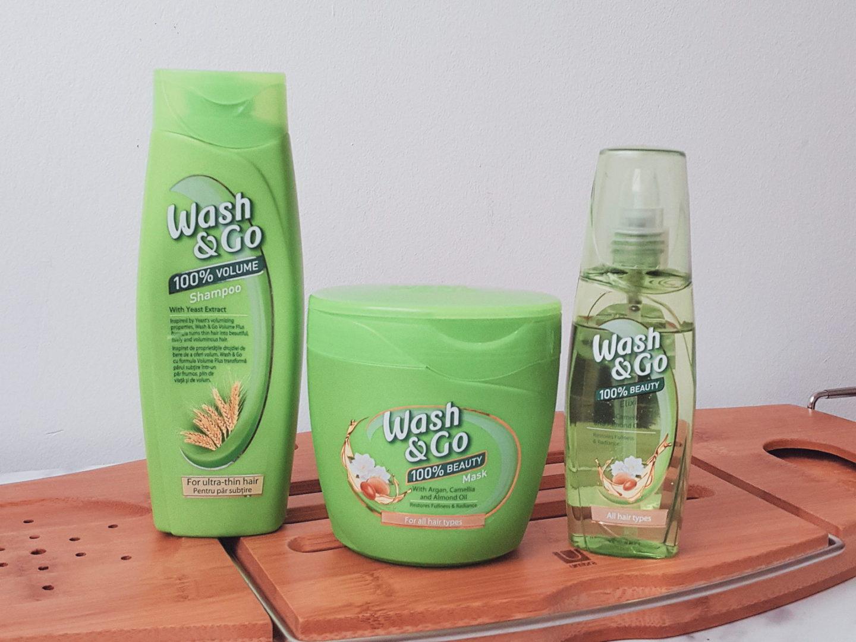wash&go sampon masca ulei rutina ingrijire par debora tentis