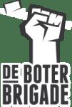 de boterbrigade wit logo