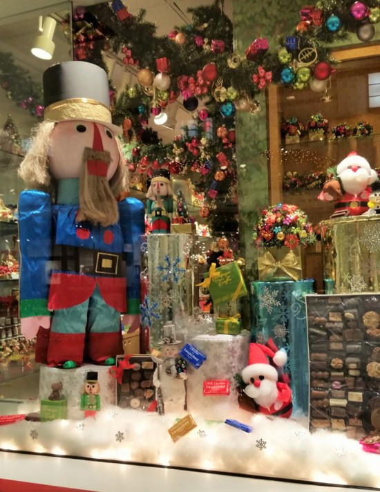 Christmas window display, The Drake Hotel, Chicago