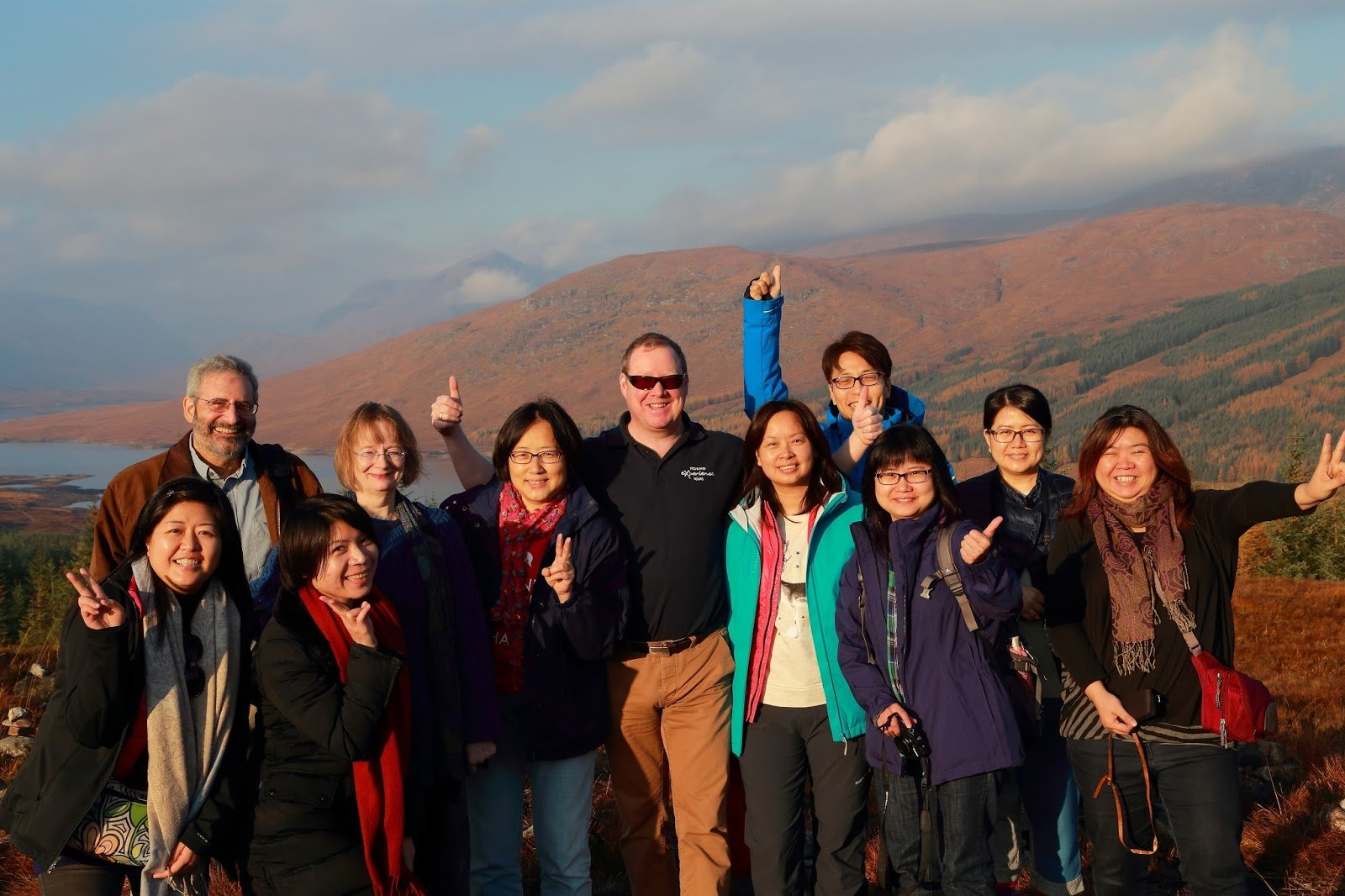 Three Day Highland Tour & New Friends from Hong Kong