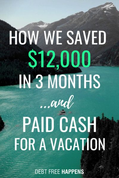 How To Save $12K in 3 Months