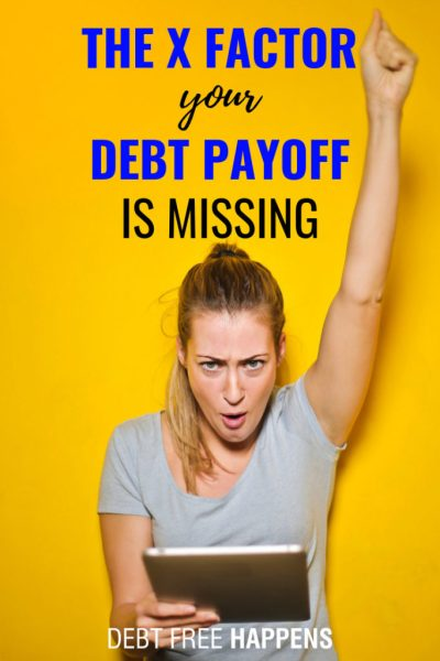 The X Factor Your Debt Payoff Is Missing