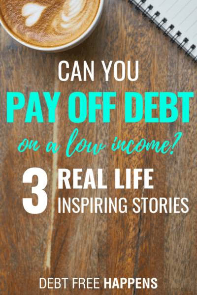 Can You Pay Off Debt With A Low Income