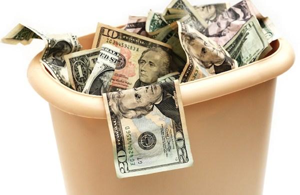 5 ways you're throwing away money