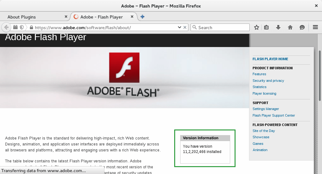 Install Adobe Flash Player Firefox Suse Linux