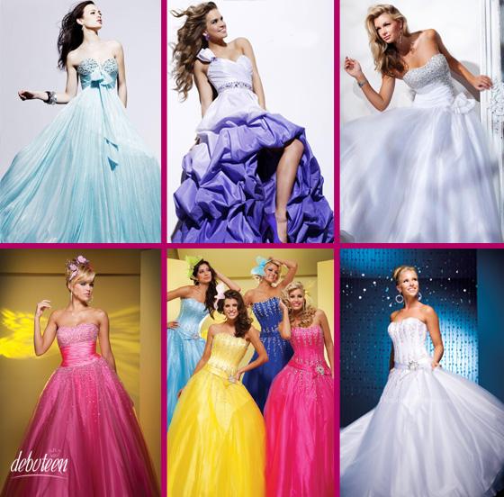 Vestidos para valsa