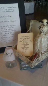 Wedding Invitations and Monogram