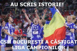 Csm București a castigat liga campionilor handbal