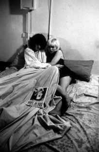 Joey Ramone and Debbie Harry