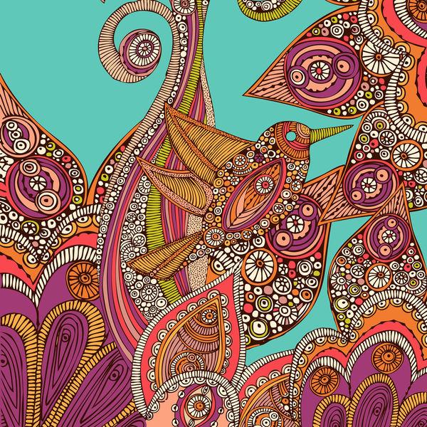 Bird In Paradise By Valentina Ramos DecalGirl