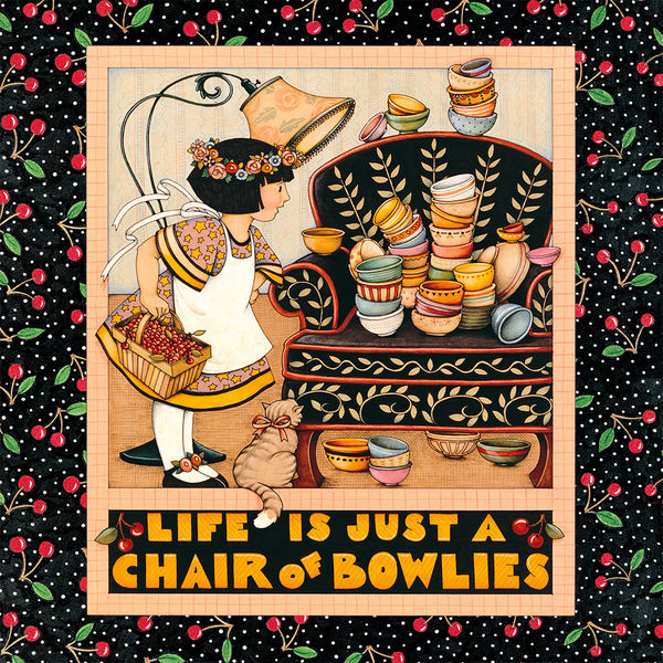 Chair Of Bowlies By Mary Engelbreit DecalGirl