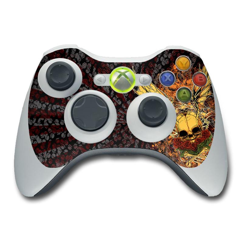 Xbox 360 Controller Skin Radiant Skull By SANCTUS DecalGirl