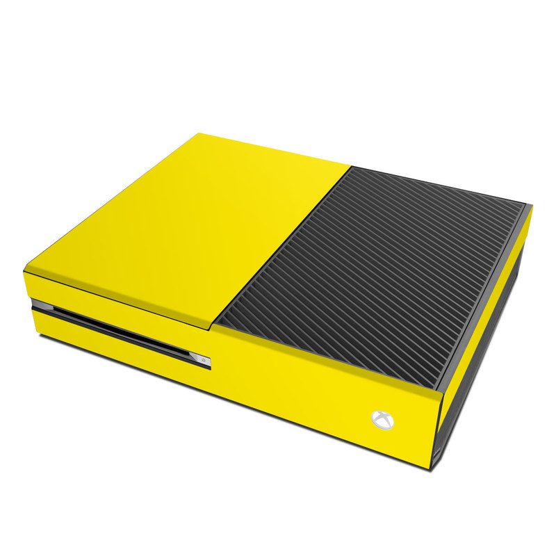 Microsoft Xbox One Skin Solid State Yellow By Solid