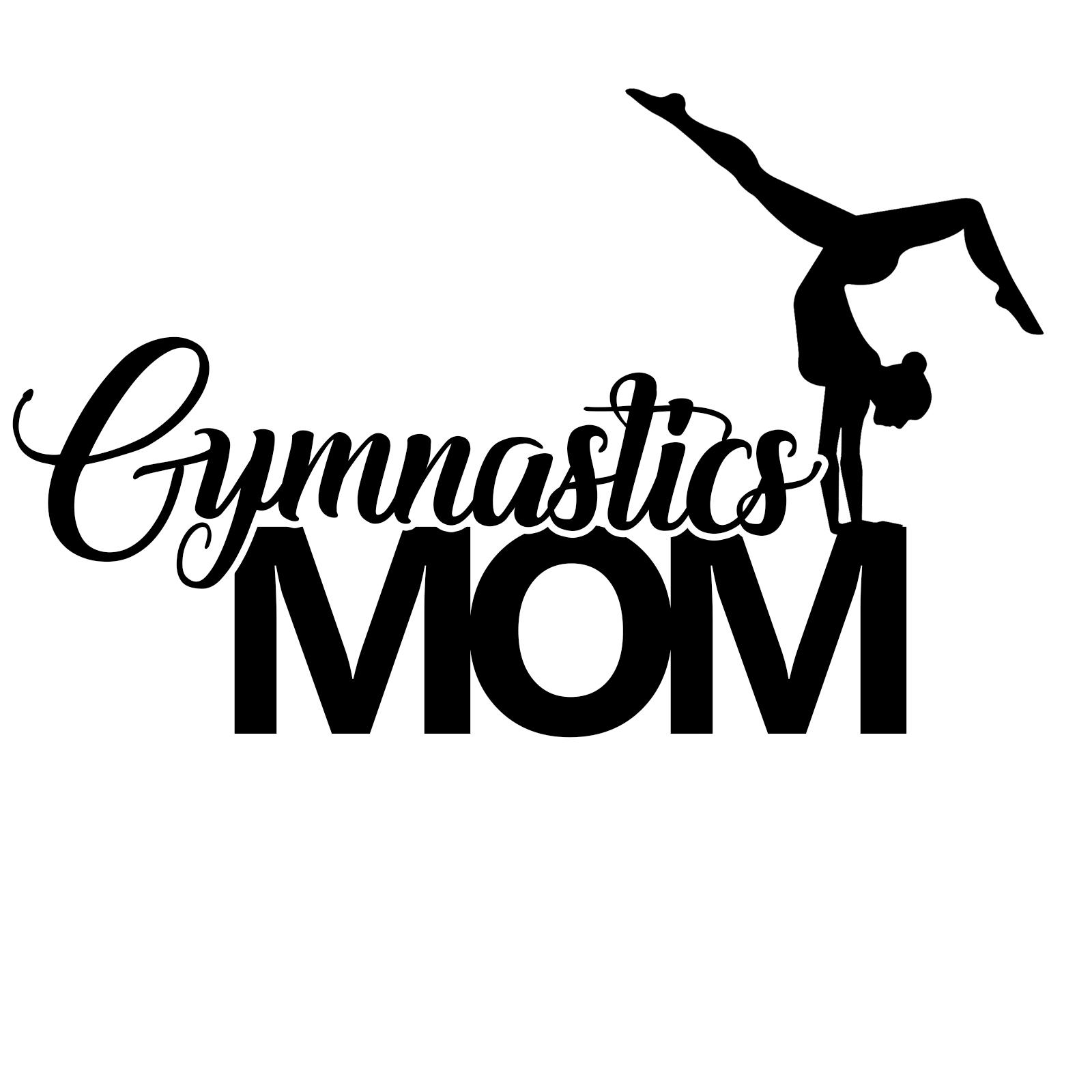 Gymnastics Mom Sports Vinyl Decal