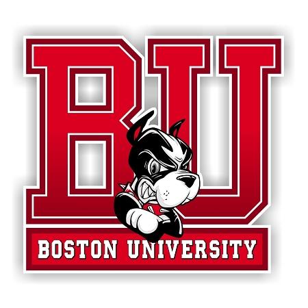 Boston University Terriers Die-Cut Decal ** 4 Sizes