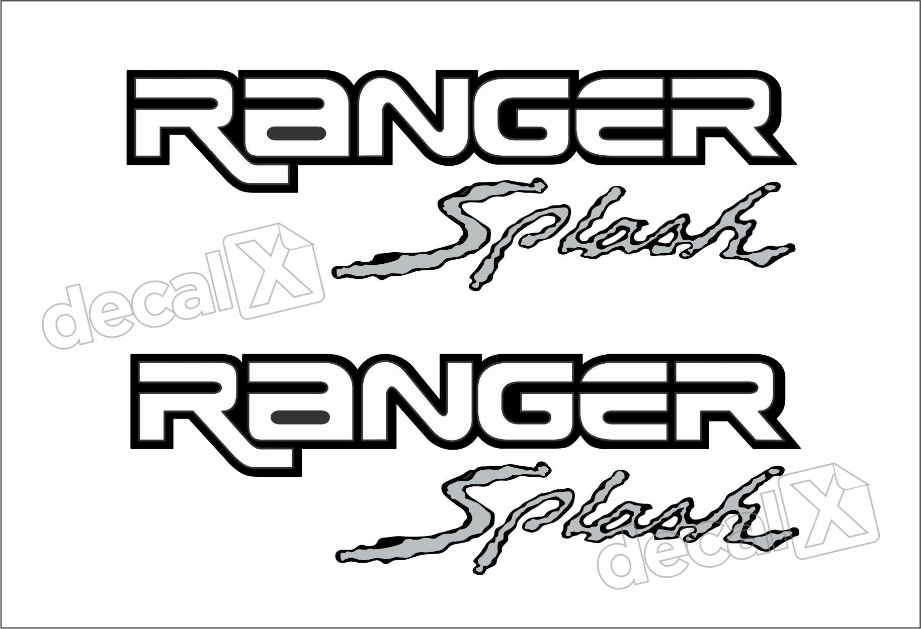 Kit Adesivo Faixas Cacamba Ford Ranger Ran92