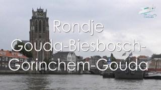 Varen met de Canicula - Vaarroutes - Vaarroute Rondje Gouda Biesbosch Gorinchem - Gouda