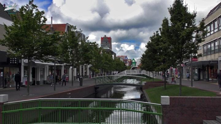 Varen met de Canicula - Aanleggen in Zaandam