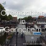 Varen met de Canicula - Aanleggen in Gorinchem