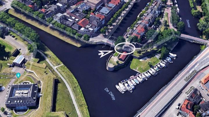Varen met de Canicula - Aanleggen in jachthaven Den Bosch