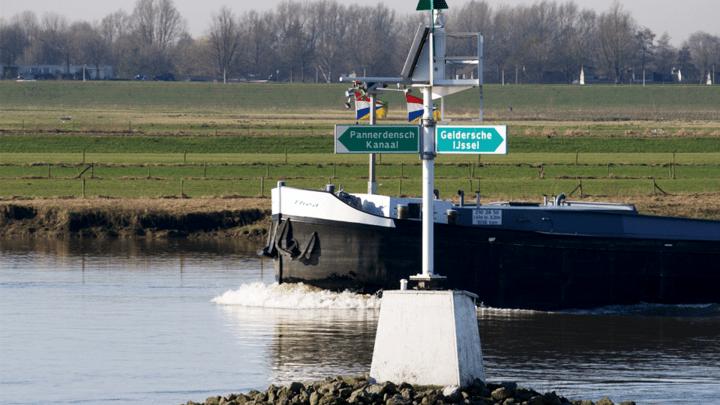IJsselkop - Varen met De Canicula - Vaarroute varen op de IJssel