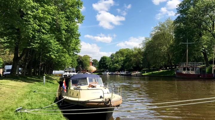 Varen met de Canicula - Rondje Noord Friesland van Franeker naar Leeuwarden