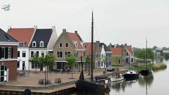 Esonstad / Rondje Noord-Nederland/vaarroute van Dokkum naar Elektra - De Canicula