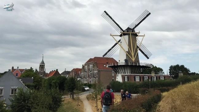 d'Orangemolen Willemstad - De Canicula