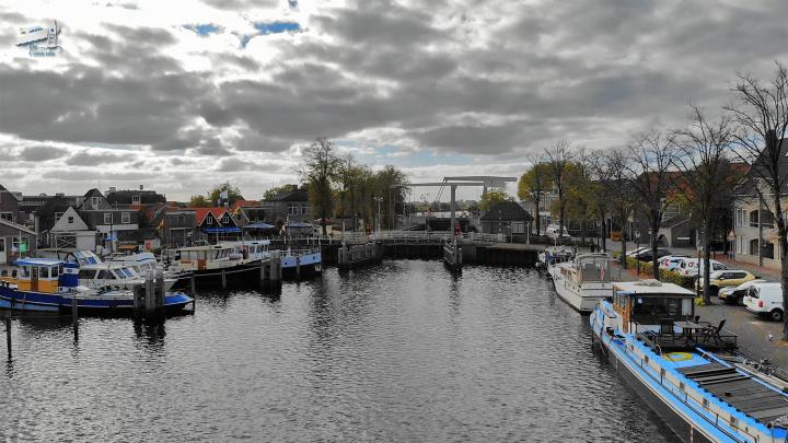 Varen met de Canicula - Vaarroute rondje noord-nederland van dieverbrug naar zwartsluis