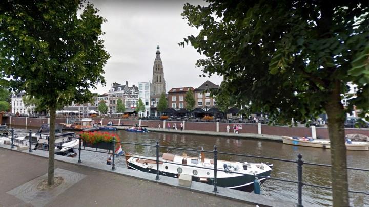 Varen met de Canicula - Aanleggen in Breda