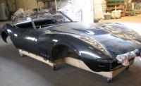 decapage carrosserie de corvette sablage peinture auto