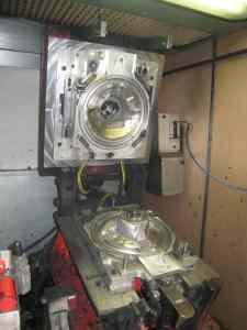 nettoyage de moule industriel par cryogénie