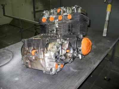 decapage de moteur procédé sec