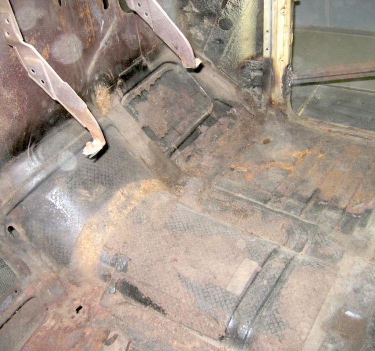 sablage de chassis, longerons,eliination de rouille et anti gravillon