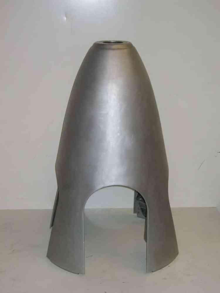décapage nez helice avion aluminium