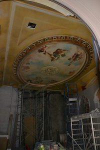 plafond peint hotel carlton de lyon