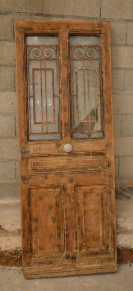decapage porte d entree vitrée