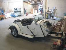 restauration MG T