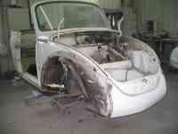 Volkswagen Cox cabriolet blanche - 02