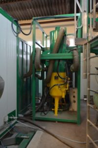 systeme de tri du corindon récupération plancher