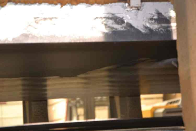 presse à chaud avant après nettoyage cryogenique