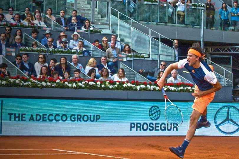 Palcos Vip Tenis - Mutua Madrid Open - jugador - decateam