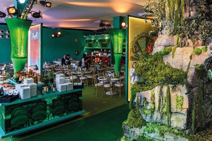 Palcos Vip Tenis - Mutua Madrid Open - restaurante 2 - decateam