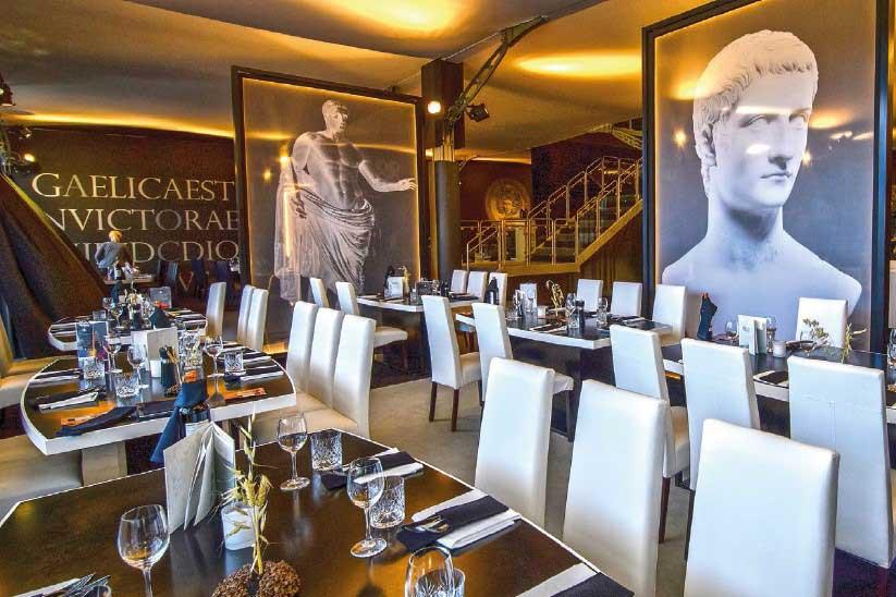Palcos Vip Tenis - Mutua Madrid Open - restaurante - decateam