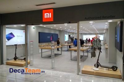 Nuevas tiendas Xiaomi en Madrid - decateam - organizacion eventos deportivos